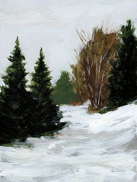 Winter op Grand Mesa, Pamela Munger van Wild Apple