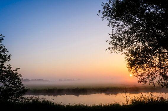 Peaceful sunrise
