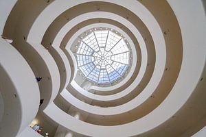 The Spiral, Guggenheim New York van