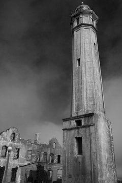 Alcatraz vuurtoren van Koen van der Werf