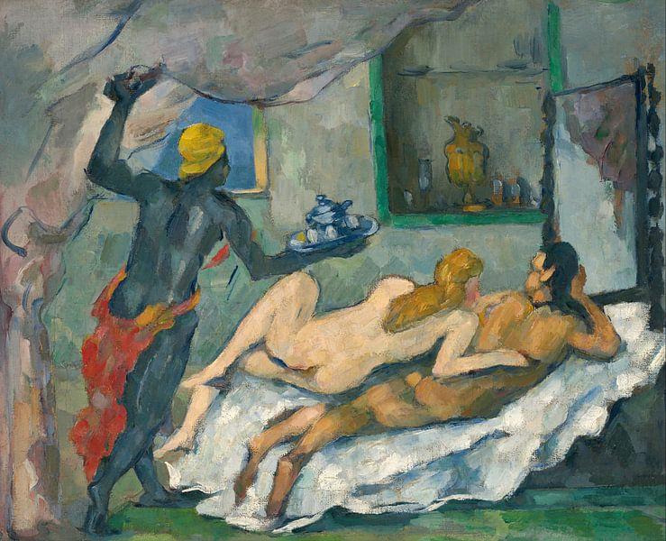 L'Après-midi à Naples, Paul Cézanne von Meesterlijcke Meesters