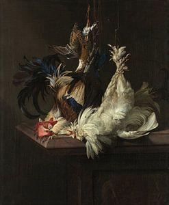 Willem van Aelst. Stilleven met gevogelte van 1000 Schilderijen