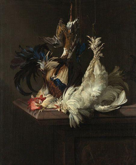 Willem van Aelst. Stilleven met gevogelte