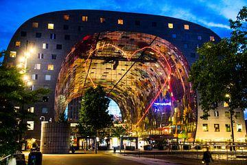 De markthal Rotterdam zur Abendzeit von Photography by Naomi.K