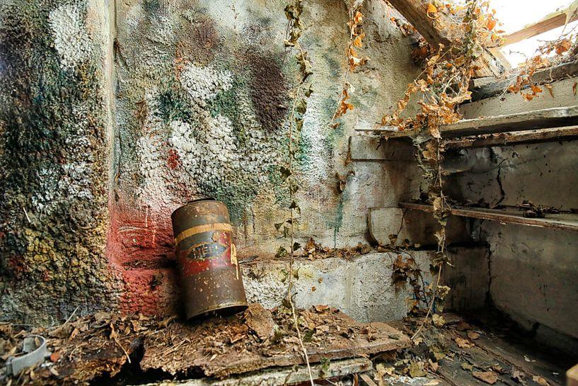 Glatte Wand in der Malerei-Workshop von Jan Sportel Photography