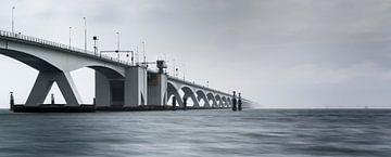 Zeelandbrug panoramique ( pont de Zélande ) sur Mart Stevens