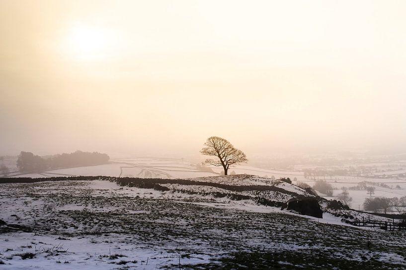 Winter in Peak District van Claire Droppert