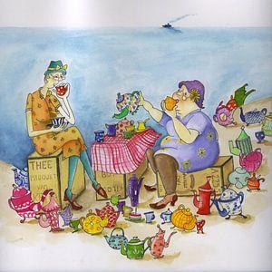 Tea ladies von Martine van Nieuwenhuyzen