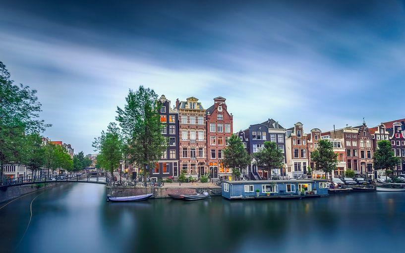 Amsterdamse grachten van Martijn Kort