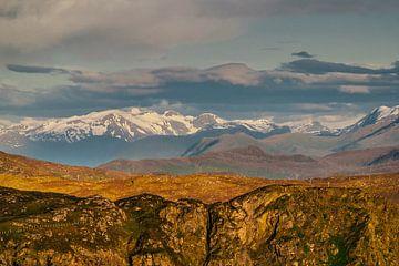 Norwegische Berge von