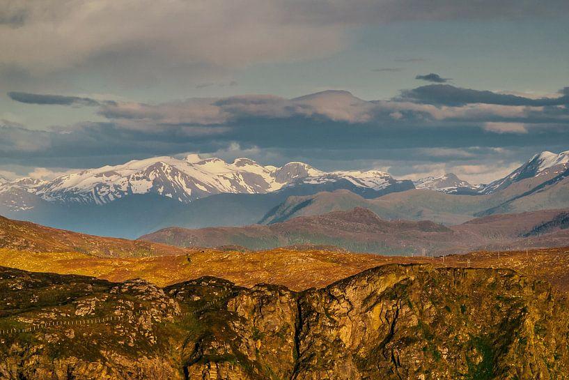 Noorse bergen van Patrick van Oostrom