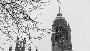 Middelburgs Rathaus im Winter von Percy's fotografie