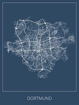 Dortmund, blauw