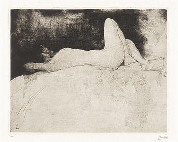 Liegender Akt, Jules De Bruycker (1920)