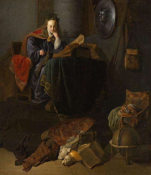 Minerva, Rembrandt van Rijn von Rembrandt van Rijn