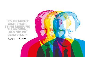 Willy Brandt Quote van Harry Hadders