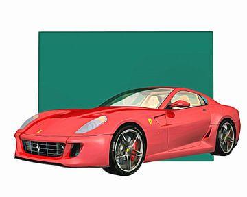 Klassieke auto – Oldtimer Ferrari 599 GTB Fiorano 2006