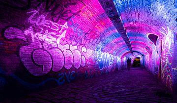 Rosa Tunnel von Brigitte Mulders