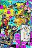 Kunstparty mit Chagall Miro Rothko Basquiat Brandt und Zanolino von Giovani Zanolino Miniaturansicht