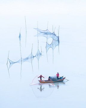 Fischer im Osten von Rudmer Hoekstra