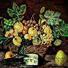 Stilleven met dode ekster en eierwekker van Ruben van Gogh thumbnail