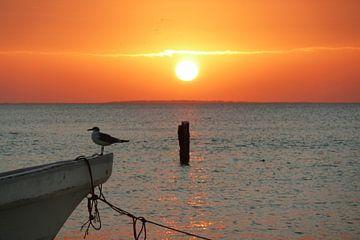 Sunset von Marloes Alink