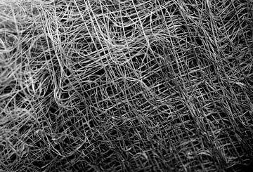 Abstracte lijnen in zwart-wit van
