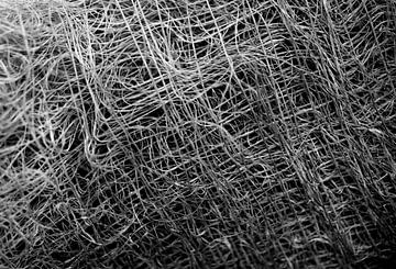 Abstract lines in black and white sur Anne van de Beek