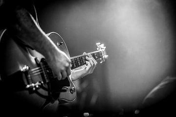 gitaar 1 van Margriet Cloudt