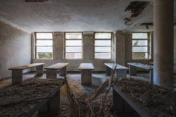 verlaten mortuarium van Kristof Ven