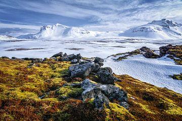 Iceland landscape sur