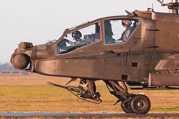 Apache klaar voor een nieuwe missie! van Jimmy van Drunen
