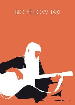 No083 MY JONI MITCHELL Minimal Music poster sur Chungkong Art