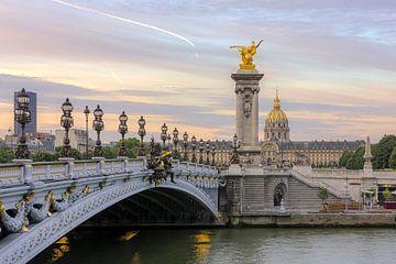 Brug Alexander iii in Parijs van Rob van Esch