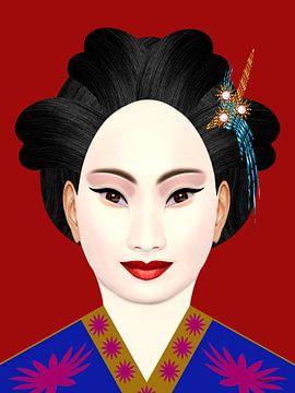Geisha 2021 van Ton van Hummel (Alias HUVANTO)