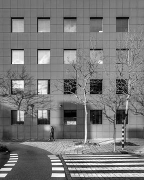 Stadtbild des Bürogebäudeteils von Leeuwarden. von Harrie Muis