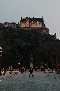 The back of Edinburgh Castle, Scotland von