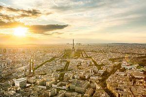 Paris Golden Hour van Etienne Hessels
