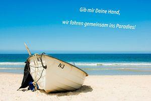 Geef me je hand, gaan we samen naar het paradijs!