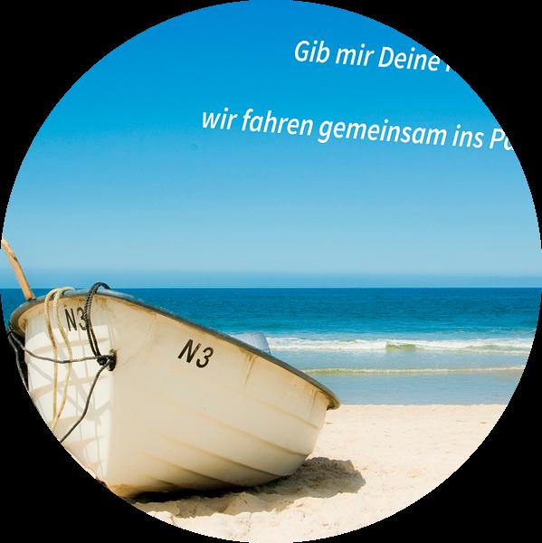 Geef me je hand, gaan we samen naar het paradijs! van Norbert Sülzner