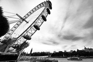 Reuzenrad in Londen van Maerten Prins