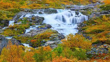 Herbst entlang des Gamle Strynefjellsvegen, Norwegen