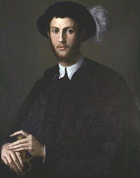 Porträt eines jungen Mannes, Bronzino