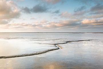Wattenmeer spiegeln von P Kuipers