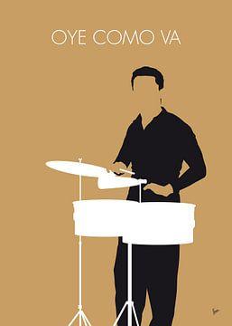 No300 MY Tito Puente Minimal Music poster van Chungkong Art