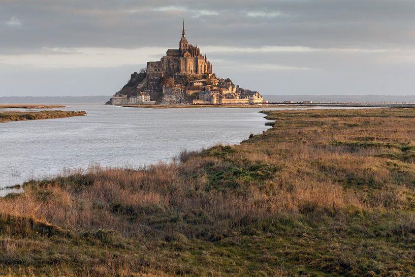 Eb bij Mont Saint Michel van Menno Schaefer
