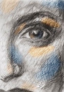 Augenkontakt von Eva van den Hamsvoort