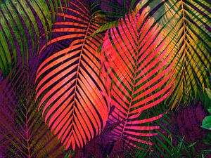 COLORFUL TROPICAL LEAVES