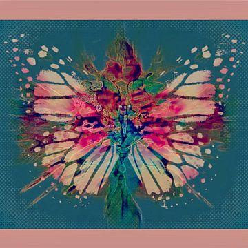 Kleurrijke vlinder van Annabella Rharbaoui