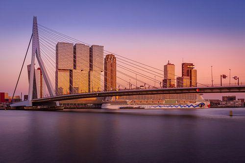 Erasmusbrug Sunset van